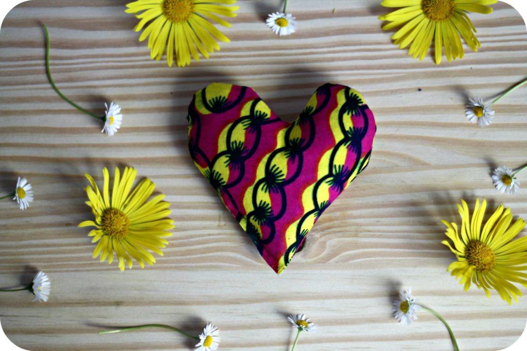 diy coeur en tissu