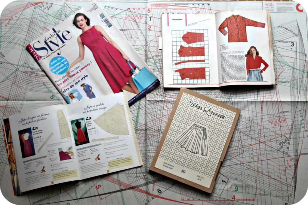 lire un patron de couture - the funky fresh project