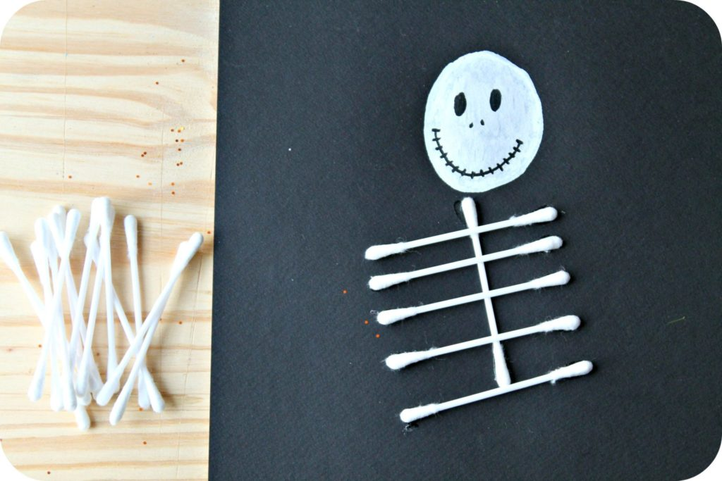 DIY cadres halloween - the funky fresh project