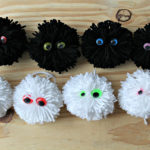 DIY – Pompon Monsters