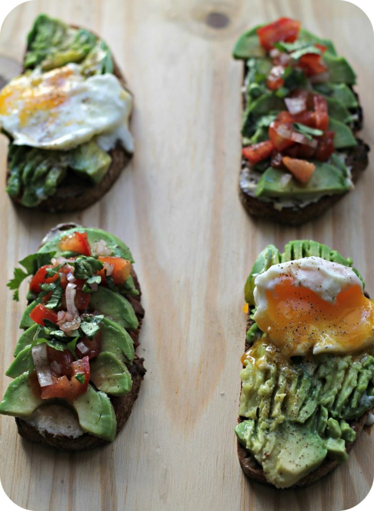tartines avocat - the funky fresh project