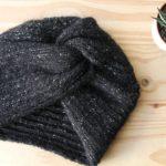 Tricot #4 – Le Bonnet Turban Huguette Paillettes