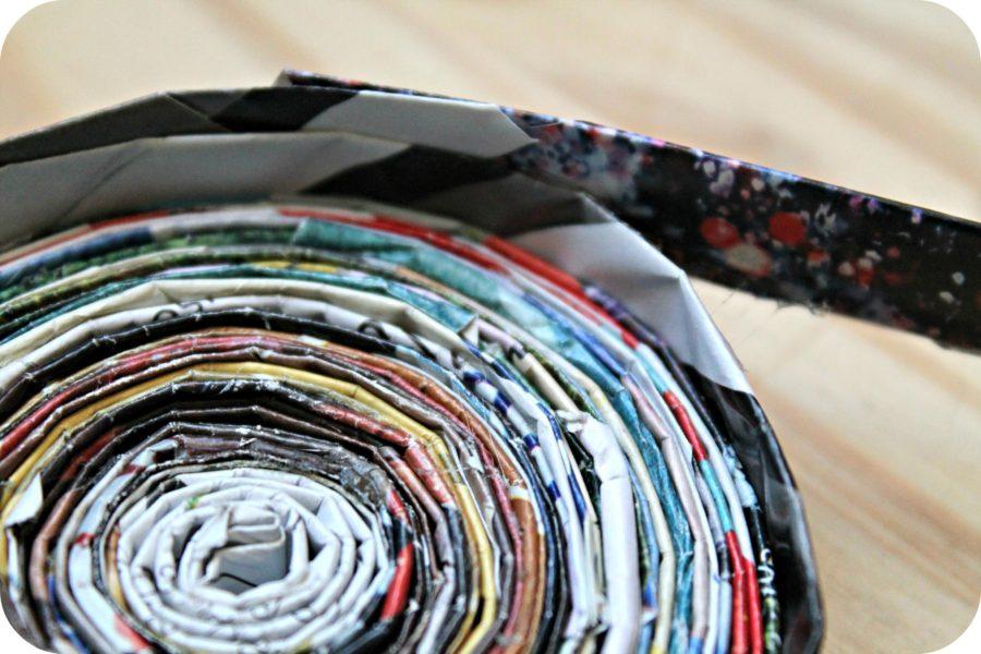 DIY - Faire un vide poche avec des magazines - The Funky Fresh Project