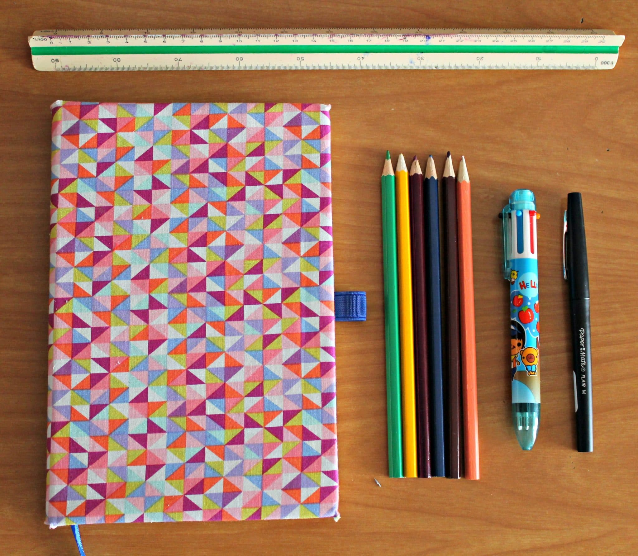 mon bullet journal the funky fresh project materiel