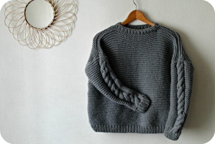 Kit pull tricot Classic Sweater We are Knitters - The Funky Fresh Project - blog