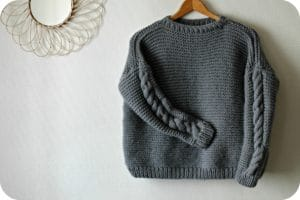 Classic Sweater We are Knitters - The Funky Fresh Project - blog