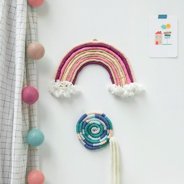 The Funky Fresh Project - Kit arc-en-ciel DIY rainbow rope