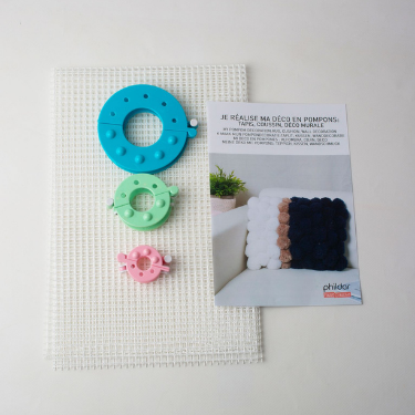 Kit DIY Tricot Pompons Phildar The Funky Fresh Project
