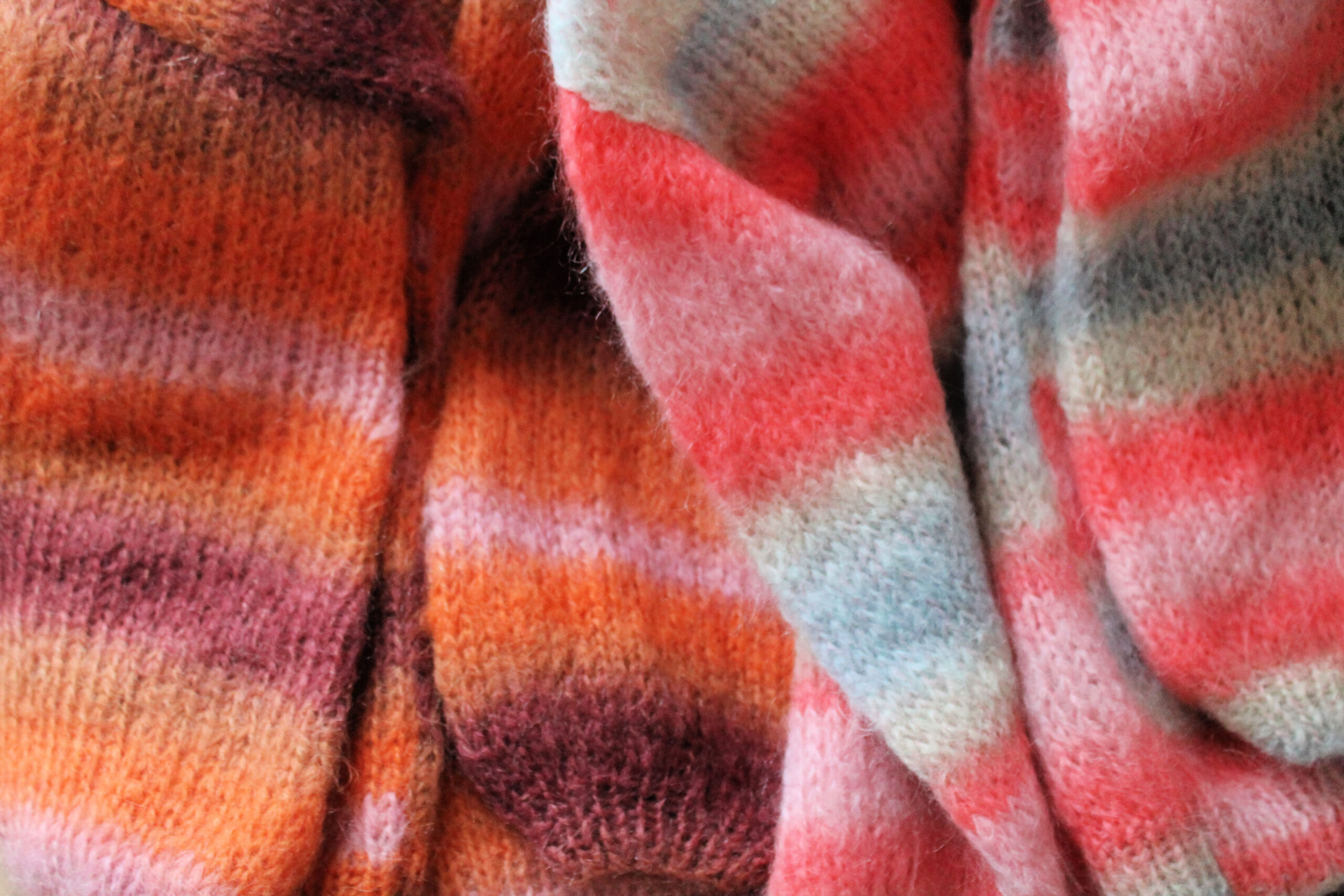 The Funky fresh Project - patron tricot gilet mohair Elsie Phildar